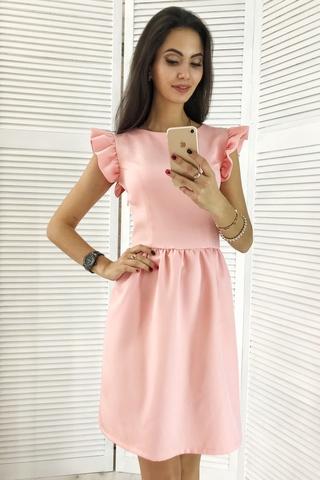 Паула. Красивое платье с пышной юбкой. Розовый