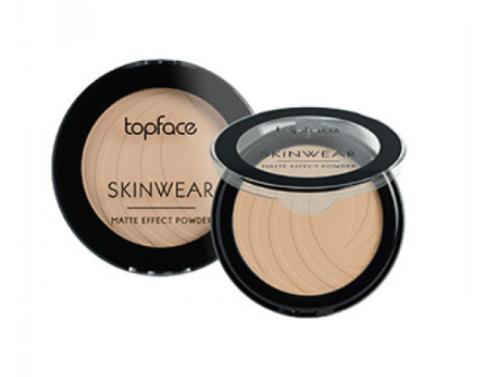 Topface Пудра матовая Skinwear Matte Effect тон 05, естественный загар- РТ265 (10 г)