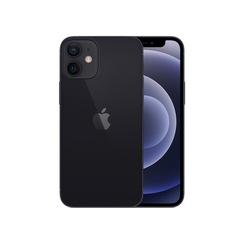 iPhone 12 mini, 64 ГБ, чёрный
