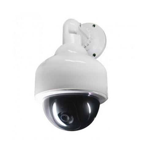 Муляж уличной купольной камеры видеонаблюдения Rexant