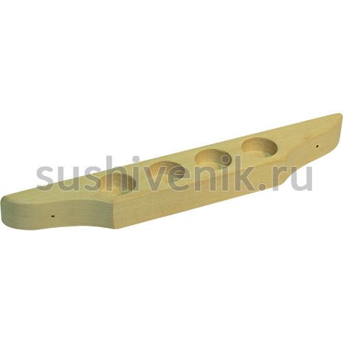 Полочка-подставка для масел (4 отверстия)