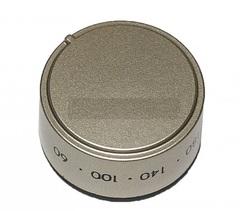 Серебристая ручка с градусами для плит Индезит, Аристон 114020