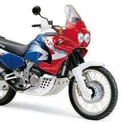 Набор наклеек Honda XRV 750V Africa Twin 2000 (пластик красный)