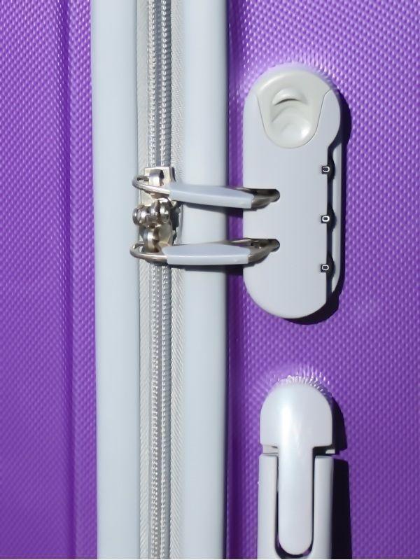 Чемодан Ananda APL-833 Фиолетовый (S+)