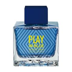 Banderas Play In Blue Seduction For Men