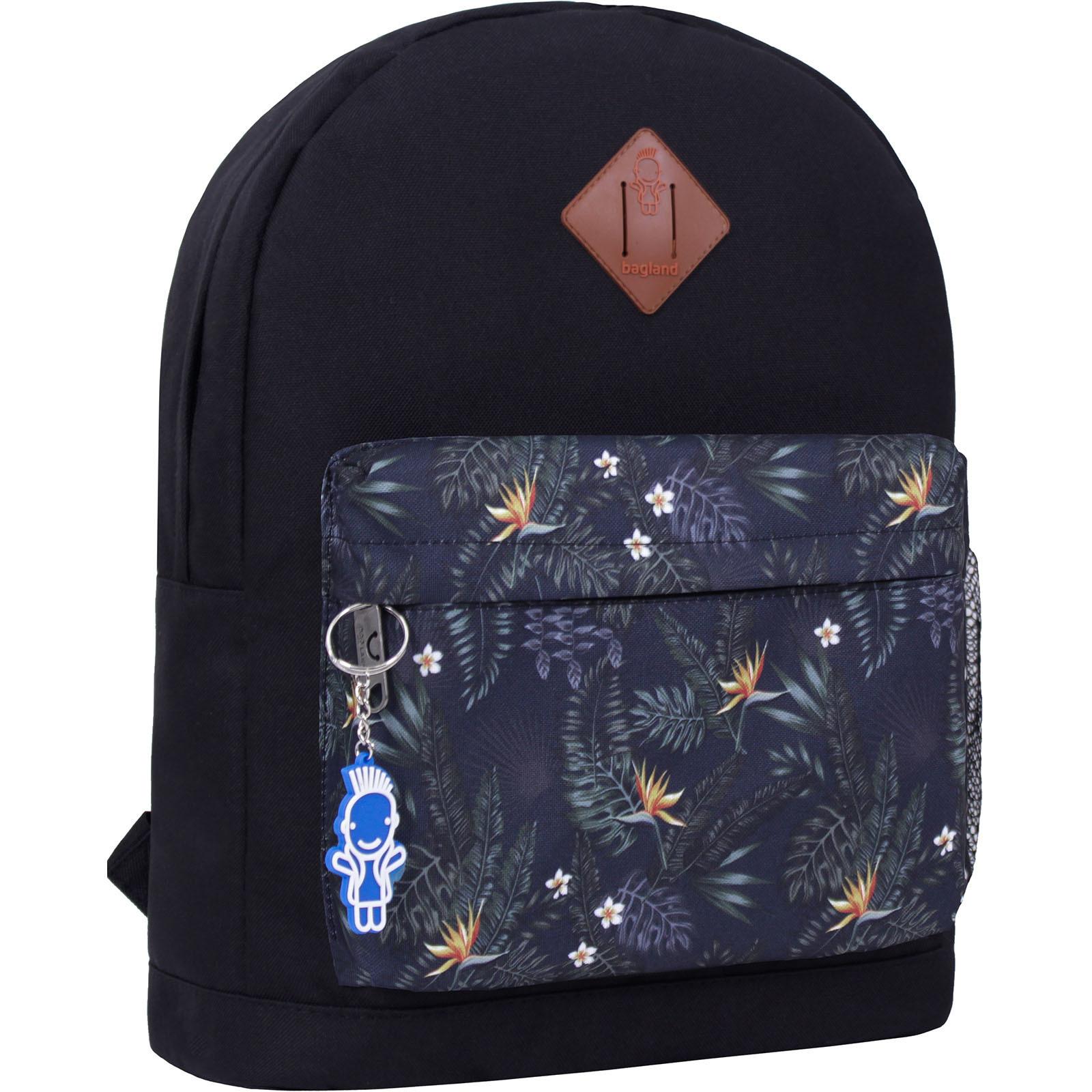 Городские рюкзаки Рюкзак Bagland Молодежный W/R 17 л. черный 460 (00533662) IMG_2333_460_-1600.jpg