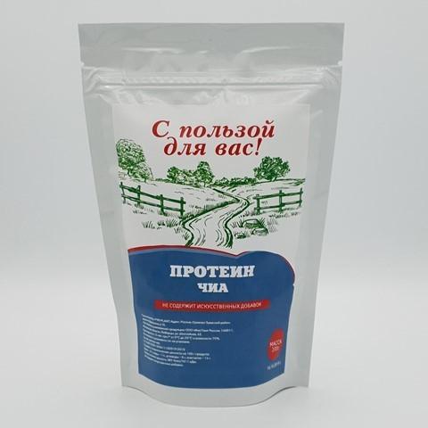 Чиа протеин С ПОЛЬЗОЙ ДЛЯ ВАС, 200 гр