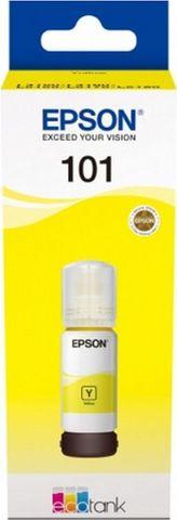 Картридж Epson L101 с желтыми чернилами Epson EcoTank для L4150/L4160/L6160/L6170/L6190. C13T03V44A 70 мл, Dye