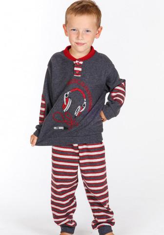 Теплый домашний костюм для мальчика