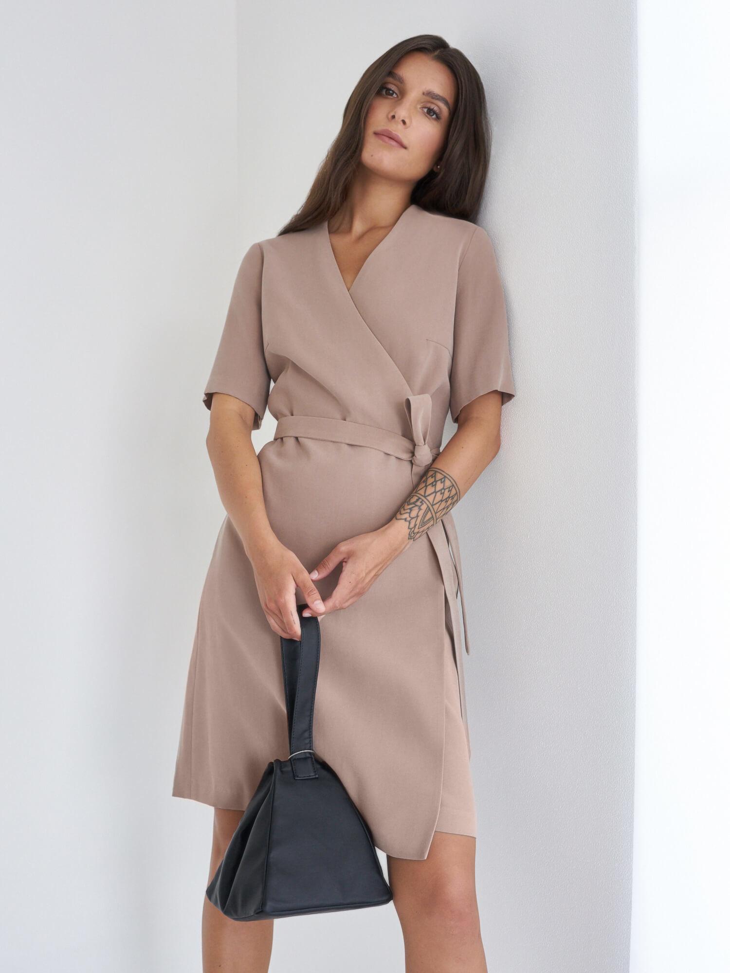 Платье Rita мини на запах фото