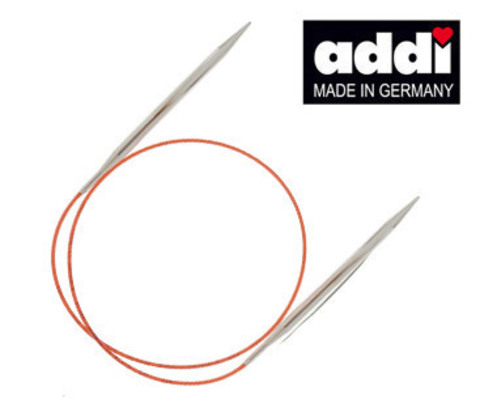 Спицы круговые с удлиненным кончиком №7 60 см ADDI Германия арт.775-7/7-60