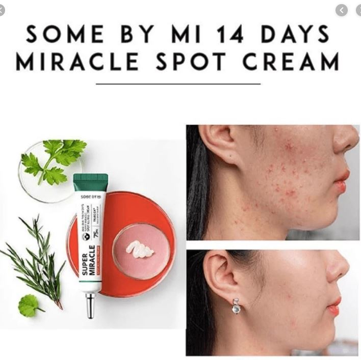Крем точечный Some By Mi AHA-BHA-PHA 14 Days Super miracle Spot All Kill Cream 30 ml