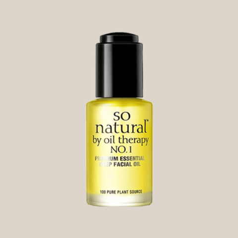 Масло для лица 100% So Natural Concentrate Premium Essential Deep Facial Oil