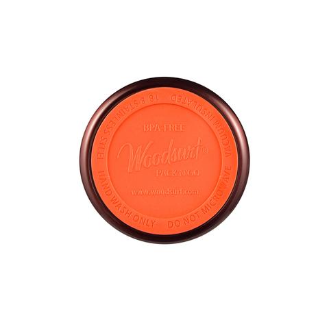 Термокружка Woodsurf Quick Open (0,48 литра), коричневая