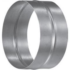Муфта-ниппель D 160 оцинкованная сталь