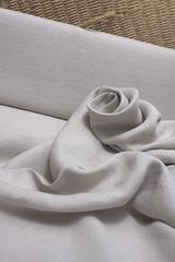 Интерьерная льняная ткань цвет РОЗОВЫЙ ЖЕМЧУГ