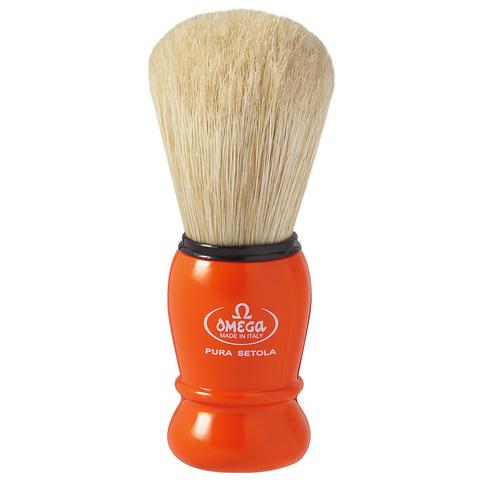 Помазок для бритья Omega натуральный кабан 10290