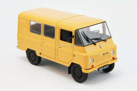 ZUK A-07 beige 1:43 DeAgostini Auto Legends USSR #202