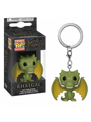 Брелок Funko Pocket POP! Keychain: Game of Thrones S10:  Rhaegal 37665-PDQ
