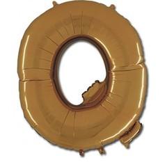 """Буква """"Q"""" золото 102 см"""