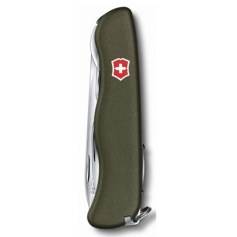 Нож перочинный Victorinox Forester (0.8363.4R) 111мм 12функций зеленый