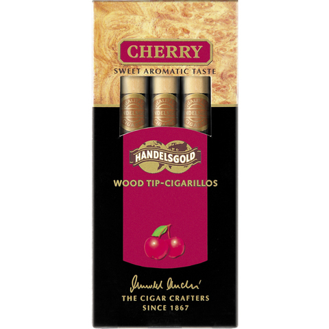 Сигары Handelsgold Wood Tip-Cigarillos Cherry Red