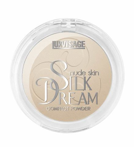 LuxVisage Silk Dream nude skin Пудра компактная тон 5 (Беж)
