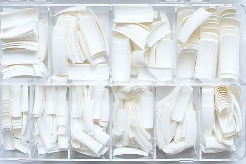Типсы белые, для френча 500 шт.
