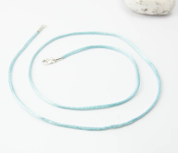 PL279-6 Шелковый шнур гайтан на шею для подвески фото 03
