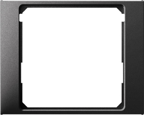 Рамка на 1 пост промежуточная 50 x 50 мм. Цвет Антрацит. Berker (Беркер). K.1. 11087006