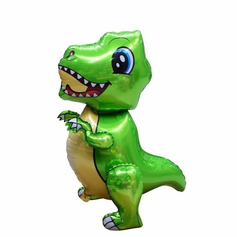 Ходячая фигура, Зеленый динозавр