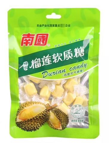 Кокосовые ириски со вкусом Дуриана, Keo Dua Sua - 300 гр.