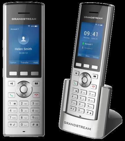 Grandstream WP820 - WiFi телефон. 2 SIP аккаунта, 2 линии, 2.4