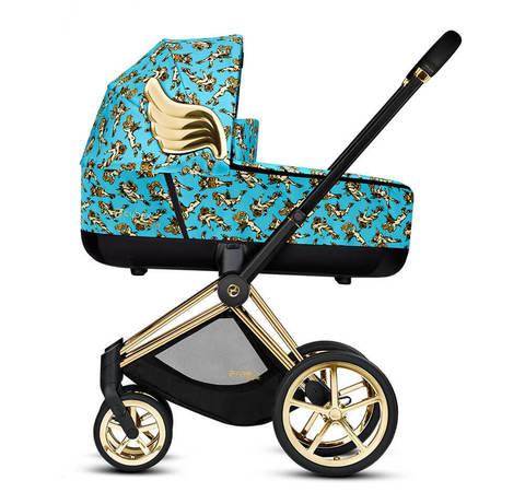 Детская коляска Cybex Priam III 2 в 1 By Jeremy Scott Cherubs Blue