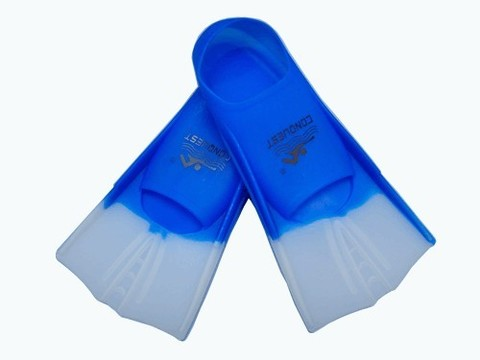 Ласты для плавания в бассейне в полиэтиленовой сумке. Размер 36-38. Материал: силикон. :(2737):