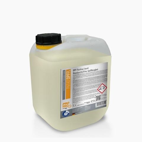 P6161 PRO-TEC Промывка сажевого фильтра (DPF) и катализатора / DPF Flushing Liquid (5000 мл)