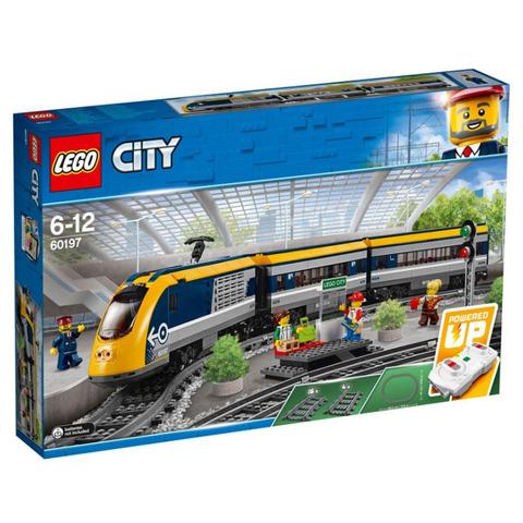 LEGO City: Пассажирский поезд 60197 — Passenger Train — Лего Сити Город