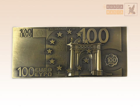 магнит 100 EURO (ЦАМ)