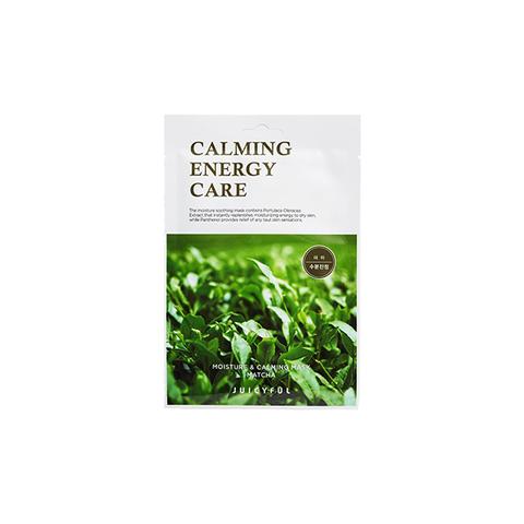Маска Juicyful Moisture & Calming Mask (Matcha) #Зеленый чай