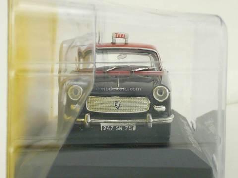 Peugeot 404 Paris World Taxi №3 Altaya 1:43