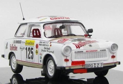 Trabant P601 #125 (M.Kahlfuss, R.Bauer) Rally Monte Carlo 1995 RAC059 IXO 1:43