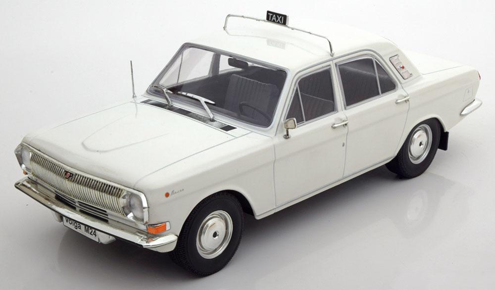 """Коллекционная модель Volga GAZ 24 Taxi """"Волга ГАЗ 24 - Такси"""" 1967"""