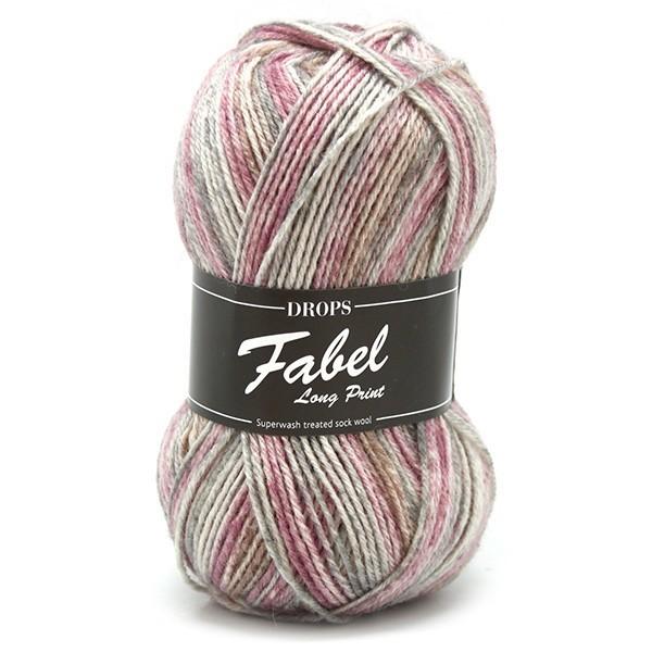 Пряжа Drops Fabel 623 розовый туман