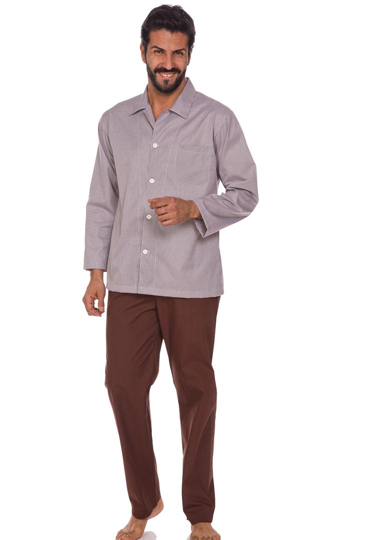 Мужская пижама из хлопка B&B
