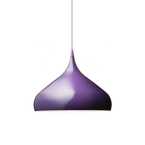 Подвесной светильник копия Spinning BH2 by Benjamin Hubert (фиолетовый)