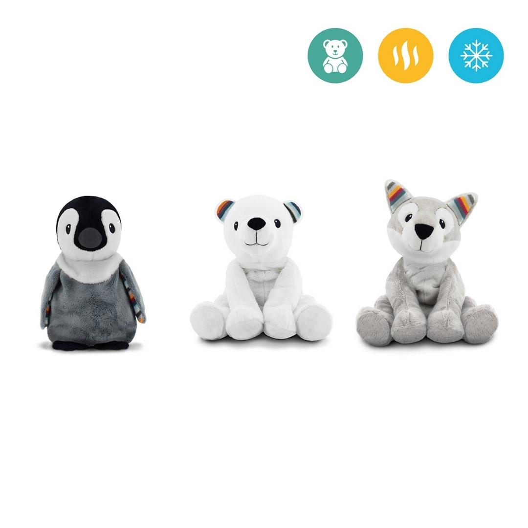 Нагреваемая плюшевая игрушка-комфортер ZAZU Пингвин Пип