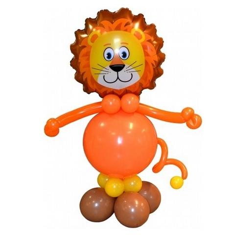Львёнок из шаров