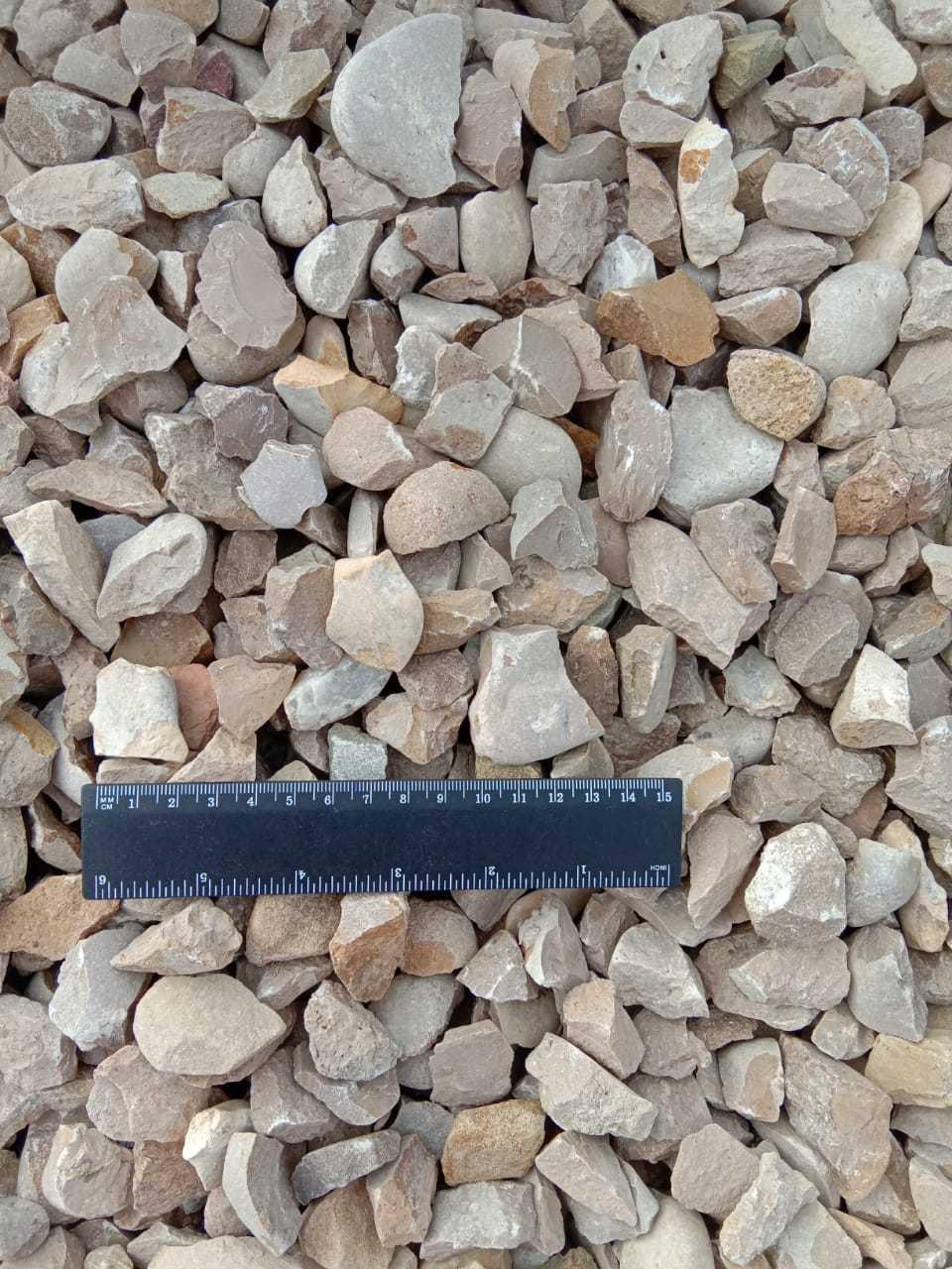 Крошка декоративный щебень Кофейный 10-20 мм