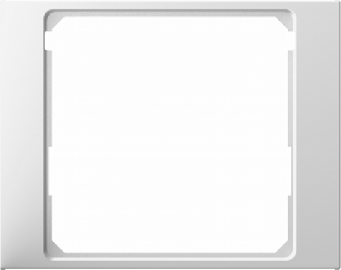 Рамка на 1 пост промежуточная 50 x 50 мм. Цвет Полярная белизна. Berker (Беркер). K.1. 11087009