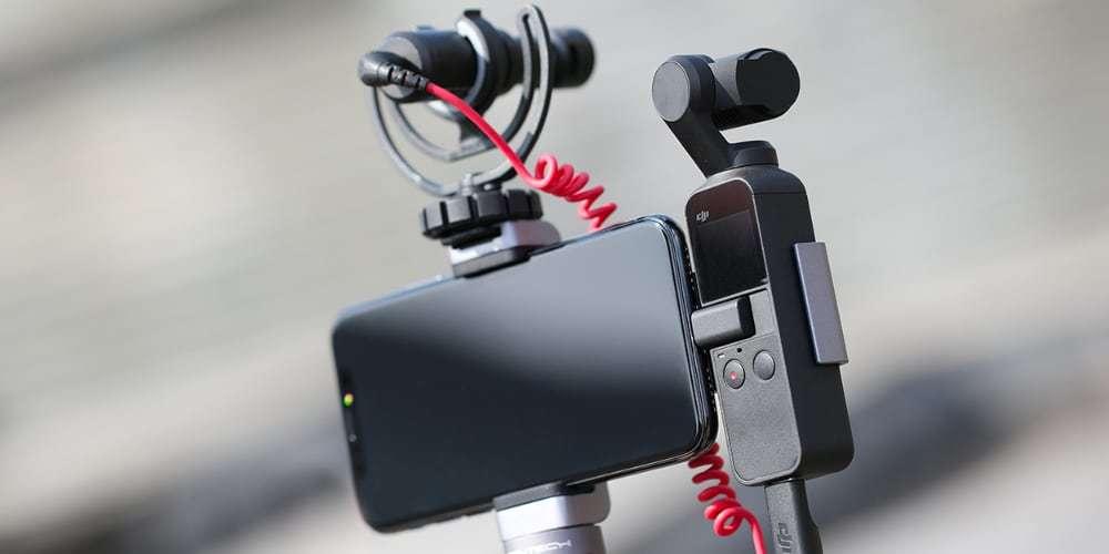 Держатель для телефона PGYTECH OSMO Pocket Phone Holder+ P-18C-029 с микрофоном